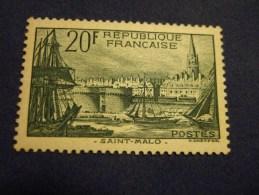 N°394 Port De Saint Malo  Neuf ** (sans Charnière). - Neufs