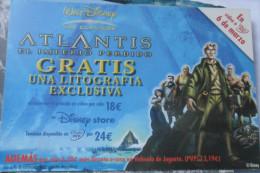 Walt Disney Atlantis Flier - Other Collections