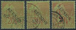 YT 29 Au 31 - Réunion (1852-1975)