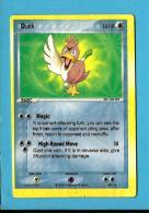 POKEMON 2006 - Duck - 60 HP - 98 / 106 - 2 SCANS - Pokemón