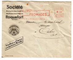 EMA [LE ROI DES FROMAGES] Roquefort  (Aveyron) 17.IV.41 - - Ernährung