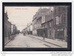 54 LUNEVILLE    Rue D Alsace (Animation,commerces) - Luneville