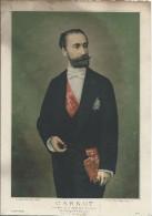 Gravure/Portrait Officiel Du Président CARNOT/République Française/Pacon/Petit/1887   GRAV77 - Gravados