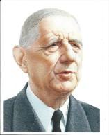 Dessin Imprimé/Portrait Du Général De Gaulle/Ricord/années Soixante   GRAV78 - Gravures