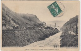 Tenay  - Veduta   1900 - Frankrijk