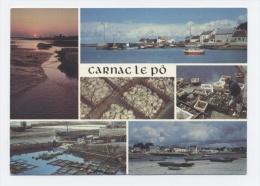 56- CARNAC LE PO, AU FOND DE LA BAIE, CENTRE D'OSTREICULTURE -RECTO/VERSO -C30 - Carnac