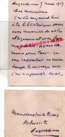 87 -SAINT JUNIEN - LETTRE AUTOGRAPHE DE JEROME THARAUD -ANGOULEME LE 9 MAI 1909- ARCHIVES MAURICE LAPORTE BISCUIT COGNAC - Documents Historiques