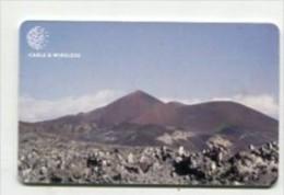 TK 6867 Ascension Island - Chip Sisters Peak