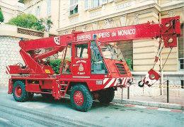 Métiers - Sapeurs-Pompiers -  Camion Grue - Sapeurs-Pompiers