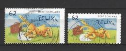 BUND Mi-Nr. 3141 + 3142 Enge + Weite Zähnung Post Von Felix Gestempelt (4) - BRD