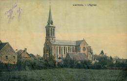 21 LIERNAIS / L'Eglise / CARTE COULEUR GLACEE - France