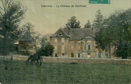 21 LIERNAIS / Le Château De Cenfosse / CARTE COULEUR GLACEE - France