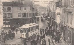 EPINAL Tramways Spinaliens Arrêt De La Rue Leopold Bourg - Epinal