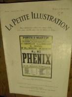 """Revue Théatre: La Petite Illustration. 27/01/1923 N°87 - """" Le Phénix """" Par Maurice ROSTAND - Theatre"""