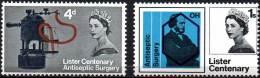 GREAT BRITAIN 1965 Lister Centenary (ordinary) - 1952-.... (Elizabeth II)