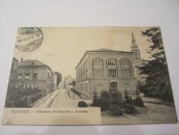 CPA  GREIFSWALD RUBENOWSTR MIT UNIVERSITAT U BIBLIOTHEK  1910 - Greifswald