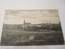 CPA  GREIFSWALD PANORAMA 1911 - Greifswald
