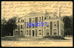 Le Chesnoy Par Sens  ( Yonne ) - Châteaux De L'Yonne  - Edition De La Chocolaterie D'Aiguebelle  Réf: 33431 - Francia