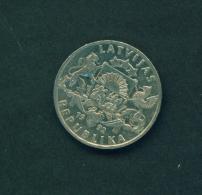 LATVIA  -  1992  1l  Circulated Coin - Latvia