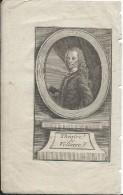 Gravure/ Voltaire/Théatre DeVoltaire / 18éme Siécle        GRAV81 - Engravings