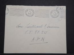 TUNISIE - Env FM De Juillet 1958 De Bizerte Pour L'AFN - Belle Obliterration Mécanique - P14932 - Tunisie (1956-...)