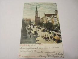 CPA DANZIG  RATHAUS 1902 - Danzig