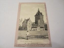 CPA DANZIG STOCKTURM 1902 - Danzig