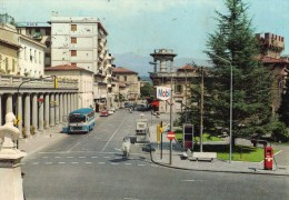 Montevarchi (AR) - Piazza V. Veneto (con Auto, Autobus E Distributore) - Italia