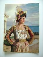 GRECIA  GREECE   GRECS   GREEK COSTUMES  KLEIDUNG   COSTUME    VIAGGIATA  COME DA FOTO - Costumi