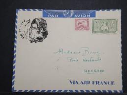 INDOCHINE - Env Avec Griffe Ouverture De La Ligne Air France Saigon Siemreap (Cambodge) Oct 1950 - A Voir - P 14937