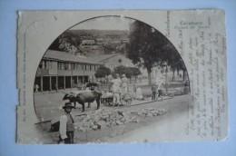 CPA CHILI CHILE. TALCAHUANO. Talcahuano Plazuela Del Jardin. Carte Animée. 1906. - Chile