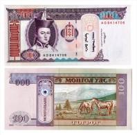 Mongolie - 100 Tugrik 2008 (UNC) - Mongolia