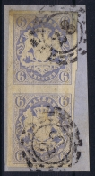 BAYERN:  Mi Nr 16 Yv Nr 17  Used  1867 Einheit Mühlradstempel  28 Augsburg - Bayern