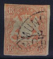 BAYERN:  Mi Nr 19  Yv Nr 22 Used - Bayern