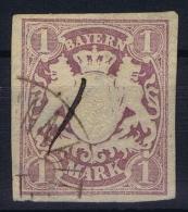 BAYERN:  Mi Nr 30 A   Yv Nr 36 Used - Bayern