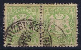 BAYERN:  Mi Nr22 Y Aused  Einheit 1870 - Bayern