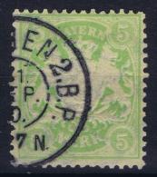 BAYERN:  Mi Nr 70 Y     Used 1900 - Bayern
