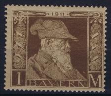 BAYERN:  Mi Nr 86 I MNH/**  1911 - Bayern