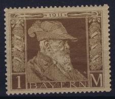 BAYERN:  Mi Nr 86 I MH/*  1911 - Bayern