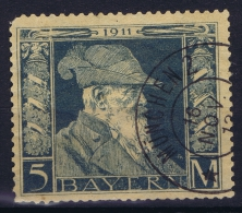 BAYERN:  Mi Nr 89 II Used   1911 - Bayern (Baviera)