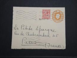 GRANDE BRETAGNE - Entier Avec Complément D´affr. Pour La France - Dec 1921 - A Voir - P 14939 - 1902-1951 (Rois)