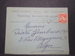 ALGERIE - Env Commerciale - Beau - A Voir - P 14940 - Algérie (1924-1962)