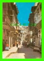 CARTAGENA, COLOMBIE - COLOMBIA - ASPECTO DE UNA DE LOS CALLES DE LA CIUDAD COLONIAL - - Colombie