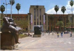 Lote PEP933, Colombia, Postal, Postcard, Medellin, Botero, Plaza De Las Esculturas, Square Sculpture, 1617 - Colombia