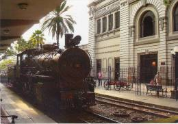 Lote PEP934, Colombia, Postal, Postcard, Medellin, Ferrocarril De Antioquia, Railroad Station, 1618 - Colombia