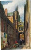 "Tuck's ""Wide, Wide World"" Bruges No. 7927 Rue De L'Ane - Bridges"