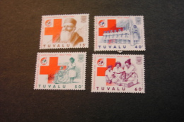 Tuvalu 485-88 International Red Cross And Red Crescent Dunant Care First Aid MNH 1986 A04s - Tuvalu