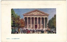 """Tuck's Paris Series 141 No. 5 """"Villes De France"""" La Madeleine - France"""