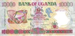 Uganda - Pick 38 - 10.000 (10000) Shillings 1998 - XF - Ouganda