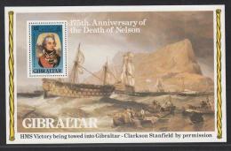 GIBRALTAR MNH** MICJEL BL 7 NELSON - Gibraltar